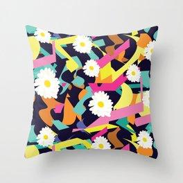 Daisy Expo Throw Pillow