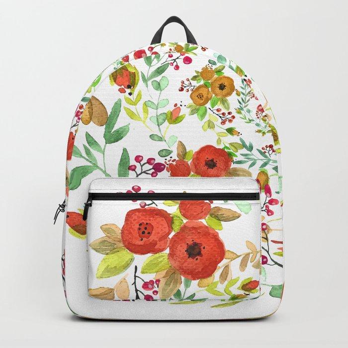 Flowers Circle Backpack