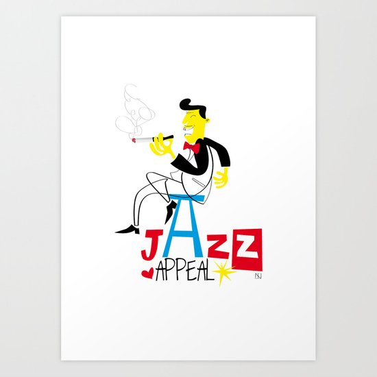 jazz appeal Art Print