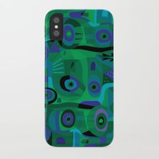 Cabins in the Sea iPhone X Slim Case