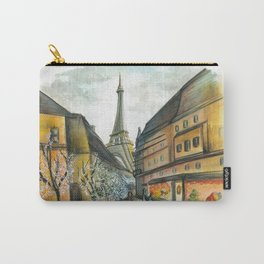 Christmas in Paris Carry-All Pouch