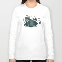 fireflies Long Sleeve T-shirts featuring Chasing fireflies by scarriebarrie
