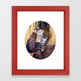 Polain Framed Art Print