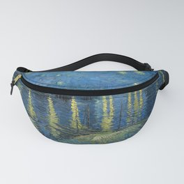 Vincent Van Gogh Starry Night over the Rhone 1888 Fanny Pack
