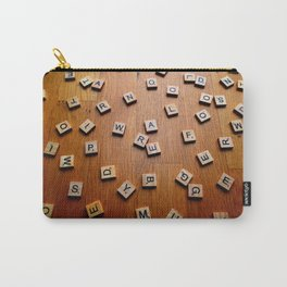 Scrabble letters Carry-All Pouch