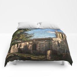 St Nicholas Church Sulham Comforters