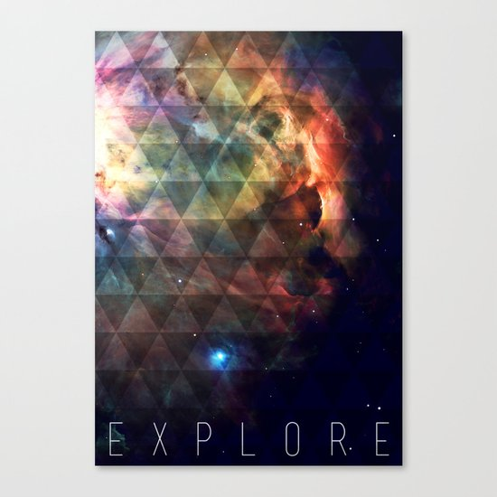 Explore II Canvas Print