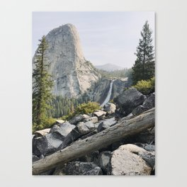 Liberty Cap and Nevada Falls in Morning Light Canvas Print