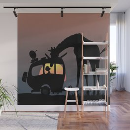 Followed me Home Wall Mural