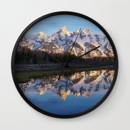 Cold & Clear Wall Clock