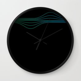 Waves - Cool Wall Clock