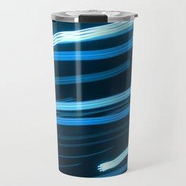 Blue Swizzle Travel Mug