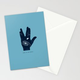 Long live and proper Stationery Cards