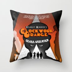 A Clockwork Orange Throw Pillow