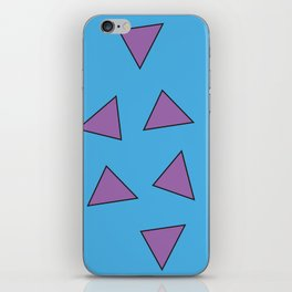 Rocko's Triangles iPhone Skin