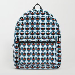 Ghastly Graphic Pattern Face Backpack