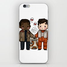 Finn and Poe and their Bay-be iPhone & iPod Skin