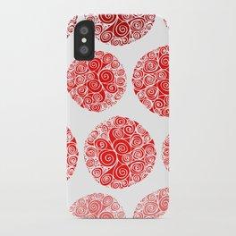 Poppy Filigrane iPhone Case