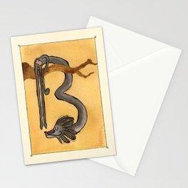 Animal's Alphabet - B for 'Babbuino' Stationery Cards