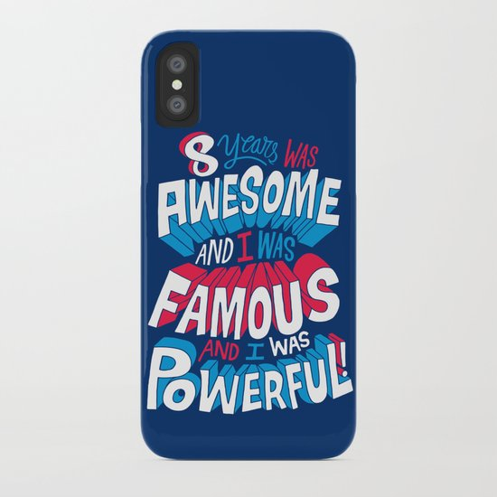 8yrs was Awesome! iPhone Case