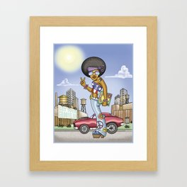 Get Your Groove On Framed Art Print
