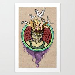 Escape Yourself Art Print