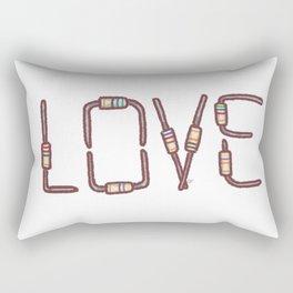 Love as resistance Rectangular Pillow