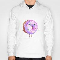 donut Hoodies featuring Donut by Zaksheuskaya
