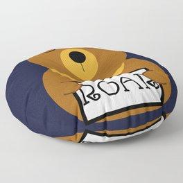 Hear the roar Floor Pillow