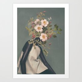 Blooming6 Art Print