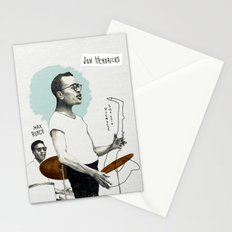 ANALOG zine - Vocalese Sax Solo Stationery Cards