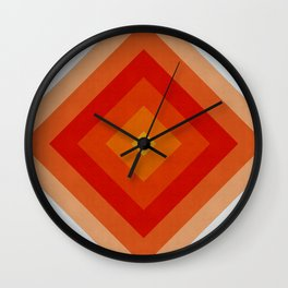 Polygon geometry II Wall Clock