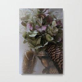 Odds and ends, bits and petals Metal Print
