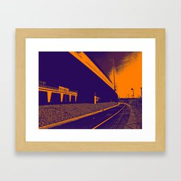 Bridge 6 Framed Art Print