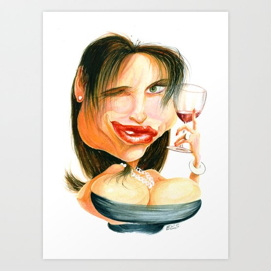 Wine Snob No.4 Art Print