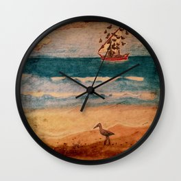 BUTTERFLY MIGRATION Wall Clock