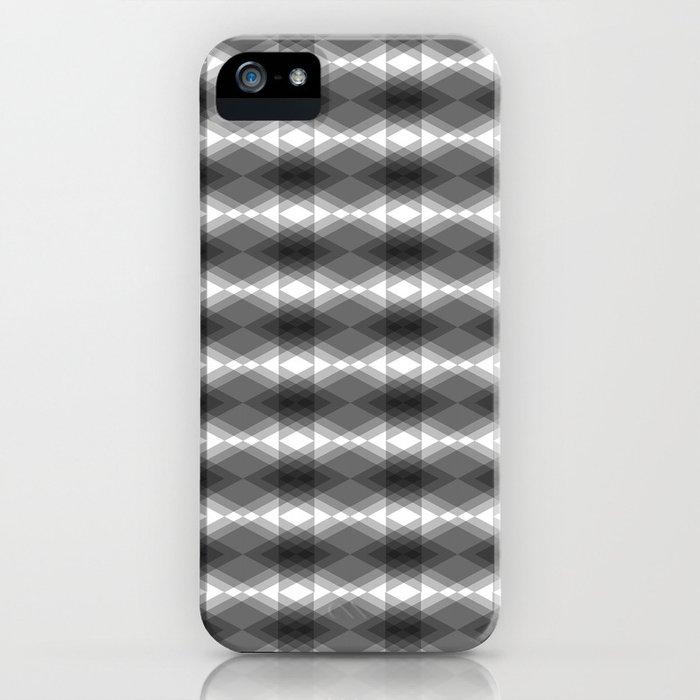 Triangles Merging iPhone Case