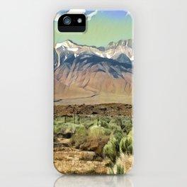 Sierra Nevada I iPhone Case