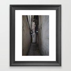 39 Framed Art Print