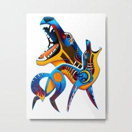 Oaxacan Coyote Metal Print