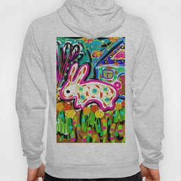 Rabbit and House Hoody