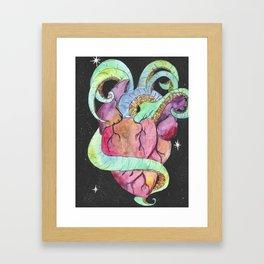 The Horror of Our Love Framed Art Print