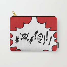 Funny Comic Style Swearing Voice Bubble Carry-All Pouch