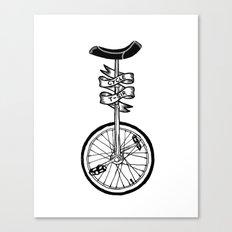 Monocycle Canvas Print