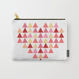 Triangles of Love Carry-All Pouch