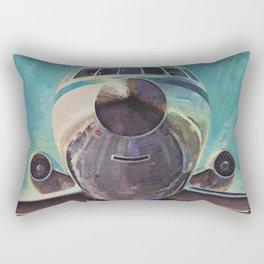 Vintage No. 004 Rectangular Pillow