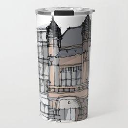 Bishopsgate Institute London by Charles Townsend Travel Mug