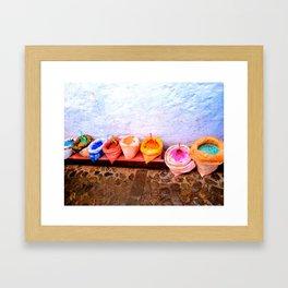 The Paints. Framed Art Print