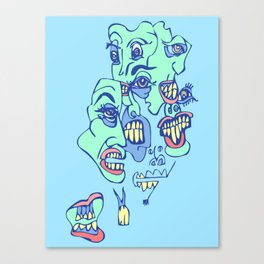Teefers Canvas Print