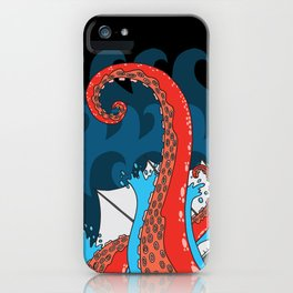 20.000 leagues under the sea iPhone Case
